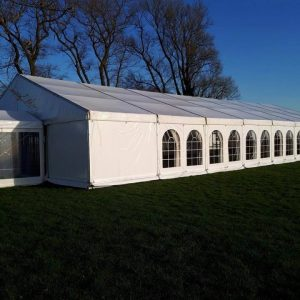 Wedding marquee at Cattows farm