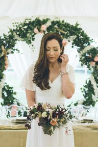 Vintage chic styling 5 with bride